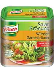 Big Box KNORR Salat Kroenung wurzige Gartenkräuter (Spicy Herb Garden) 240g New