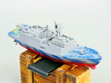 Remote Control Rc Micro Boat Frigate Navy Ship 2.4Ghz -Blue-