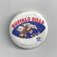 "1970's Buffalo Bills button 1 3/4"" Vintage NFL Old helmet logo"