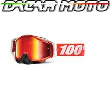 Verkleidung Brille 100% RACECRAFT Off Road Motorrad Cross Linse Spiegel +