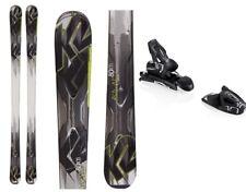 2014-15 K2 AMP 80XTi Skis 156 cm with Elan 10.0 Bindings Black/Lime/White - NEW