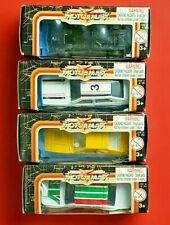 Lot of (4) Vintage Motor Max Super Wheels 1:64 Scale Die Cast/Plastic Cars NIB