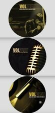 VOLBEAT 3x LP PICTURE DISC VINYL Lot THE STRENGTH / ROCK THE REBEL / GUITAR New
