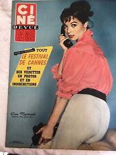 Ciné Revue N°20 du 17 mai 1957 /  Elsa Martinelli - Don Murray