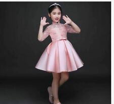 KIDS DRESS CINDERELLA -  PEACH