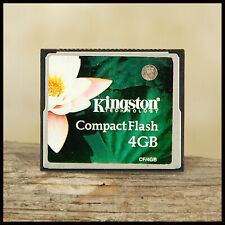 Kingston 4GB Compact Flash Memory Card suit Digital SLR