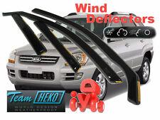 KIA SPORTAGE 12/2004 - 2010  5.doors Wind deflectors 4.pc HEKO  20126