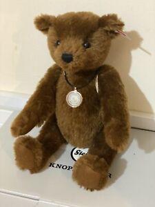 """STEIFF """"THE WORLD'S FIRST TEDDY BEAR""""  2016 LIMITED EDITION EAN: 664946"""