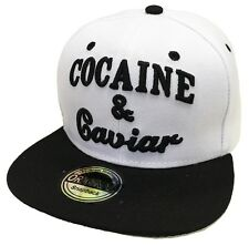 SNAPBACK CAP KAPPE BASECAP MÜTZE HIP HOP COOL TRUCKER COCAINE & CAVIAR CAPPY