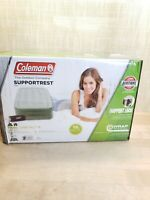 Coleman SupportRest Double-High Inflatable Air Mattress w Built-In Pump Twin