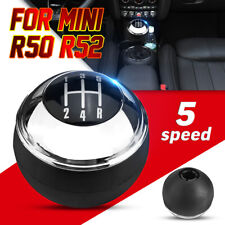 5 Speed Car Gear Shift Stick Knob Manual Chrome For MINI R50 R52 25117542278