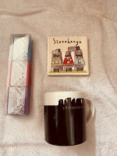 Brand New Tourist Souvenirs From Stonehenge - Mug,tile And Soap