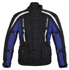 Spada Core Motorcycle Textile Mens Waterproof Jacket Black/Blue - Medium