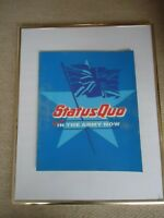 STATUS QUO PROGRAMME 1986 YOU`RE IN THE ARMY NOW WORLD TOUR COLLECTIBLE RARE GEM