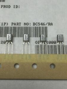 BC546 PHILIPS NPN SILICON TRANSISTOR TO92 (5, 10, 25pcs)