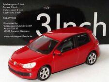 VERY RARE VW GOLF GTI 6 VI 2010 3 DOOR TORNADO RED 1:64 NOREV (DEALER MODEL)