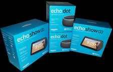 Lot 2x Amazon Echo Show 5 and 2x Echo Dot 3rd Gen BRAND NEW SEALED