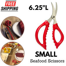 Seafood Scissor Crab Leg & Claw Lobster Cracker Stainless Steel Shrimp Devei NEW