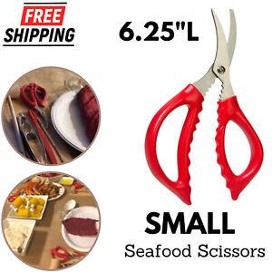 Seafood Scissor Crab Leg & Claw Lobster Cracker Stainless Steel Shrimp Devei NEW