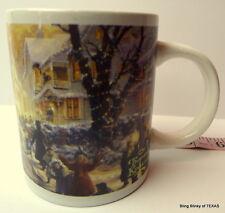 Thomas Kinkade A Victorian Christmas Carol Mug 2011