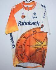 Vintage Rabobank cycling team shirt jersey Size 8 AGU