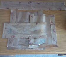 "50 x Film front brown kraft bread bag 12"" x 14"""