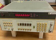 Hp 8901a Modulation Analyzer 130khz To 1300mhz