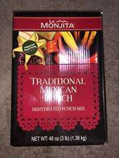 NEW IN BOX- Delicious La Monjita traditional mexican punch 3lbs 1.36kg 48oz