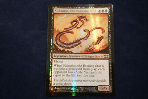 MTG FOIL Kokusho, the Evening Star From The Vault Dragons. FREE SHIPPING!