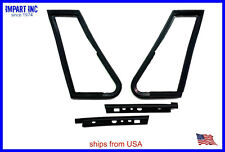 MG MGB Front Vent Window Seal Mounting Kit Both Left and Right 4 Piece Set.