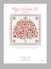 Happy Christmas Tree Counted Cross Stitch Kit riverdrift House