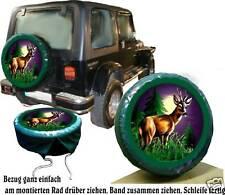 Jeep Suzuki u.Andere Reh Jagd Wild Auto SUV Reserveradabdeckung Bezug Radhülle