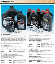 Kit Tagliando TOTALE HARLEY 883-1200 XL SPORTSTER, candele+olio+filtro nero