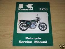 Werkstatthandbuch Kawasaki Z 250, Stand 1978