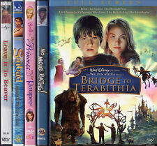 BRIDGE TERABITHIA / BARBIE PRINCESS PAUPER / LEAVE BEAVER / SINBAD etc DVD LOT