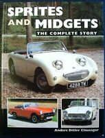 SPRITES AND MIDGETS THE COMPLETE STORY CLAUSAGER CAR BOOK 1861266537 2004