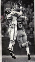1971  Football  Original Wire Photo, Bob Jeter, Chicago Bears vs. Detroit Lions