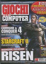 GIOCHI per il mio COMPUTER 160 command e conquer 4-starcraft 2-risen