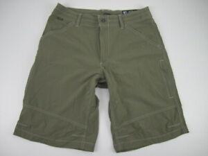 "Mens 34 Kuhl Renegade 12"" nylon spandex shorts"