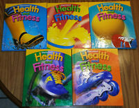 Harcourt Health and Fitness Grades 1 2 3 4 5 ~ Lot 5 Elementary School Textbooks