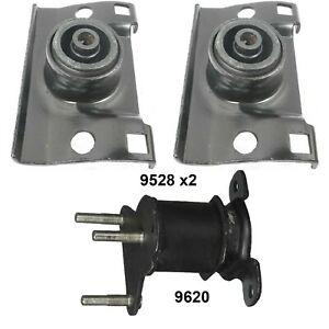 Engine & transmission Mounts Set 3 PCS fits Nissan Pathfinder, Armada, Titan 5.6