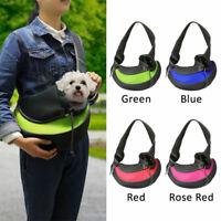 Portable Pet Carrier Travel Shoulder Sling Cage Dog Cat Rabbit Puppy Bag Pouch