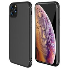 Case For iPhone SE 2 11 XR XS MAX X 8 7 6 Plus Shockproof Silicone Black Cover