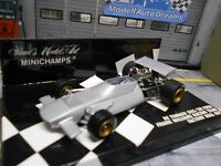 F1 De TOMASO 505 / 38 Ford Williams Racing Roll Out silber SP Minichamps 1:43