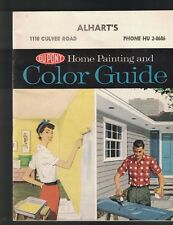 Dupont Home Painting & Color Guide Booklet 1960 Alharts Rochester NY