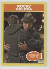 2016 Topps 40th Annivesary Online Exclusive Base #330 Balboa Rocky and Jr 0w6