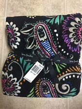 NEW - Vera Bradley Throw Blanket in Bandana Swirl - Size 80' X 50'