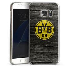 Samsung Galaxy S7 Handyhülle Case Hülle - BVB Holzoptik