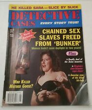 DETECTIVE CASES - VOLUME 48 NUMBER 4 - AUGUST 1998