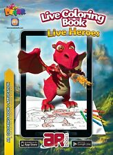 """Live Heroes"" By Devar Kids. 3D.Kids Live Colouring Book. AR"